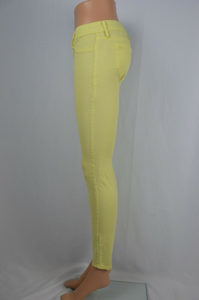Wholesale Light Yellow Jeans