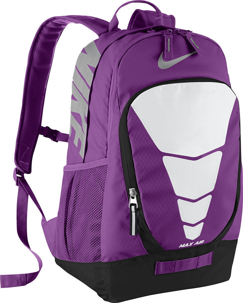 3932004848 Details about NWT NIKE AIR MAX VAPOR PURPLE WHITE GIRL'S BACKPACK LAPTOP BAG  SCHOOL BA4883 556