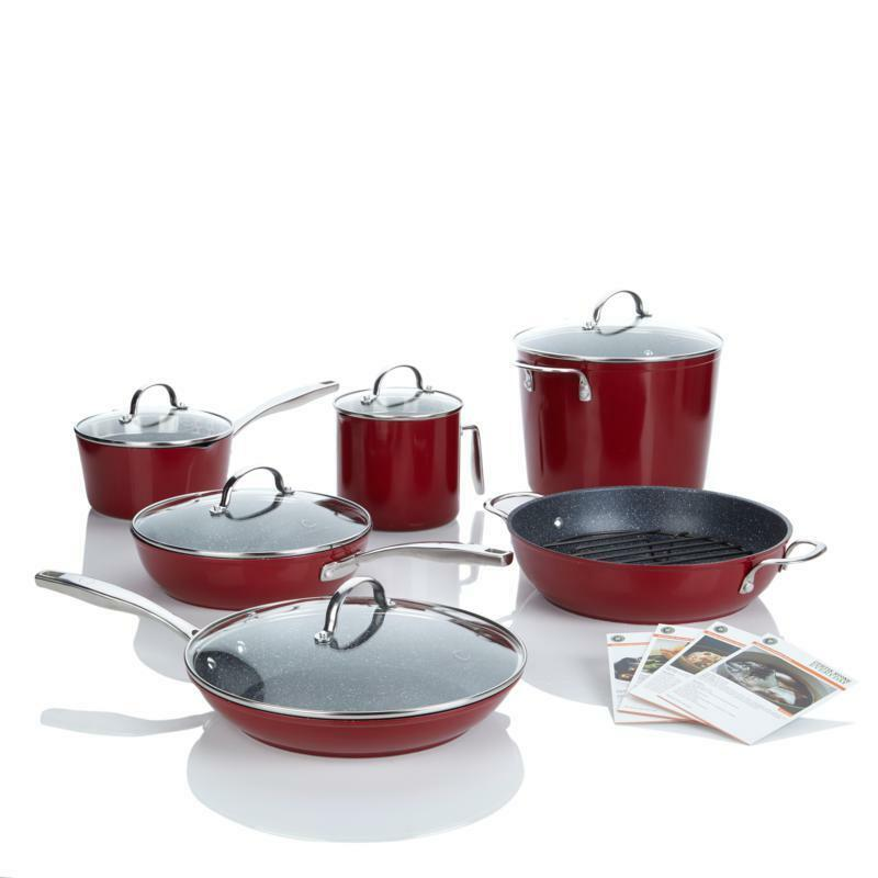 Curtis Stone Dura Pan Nonstick 12 Piece Chef S Cookware