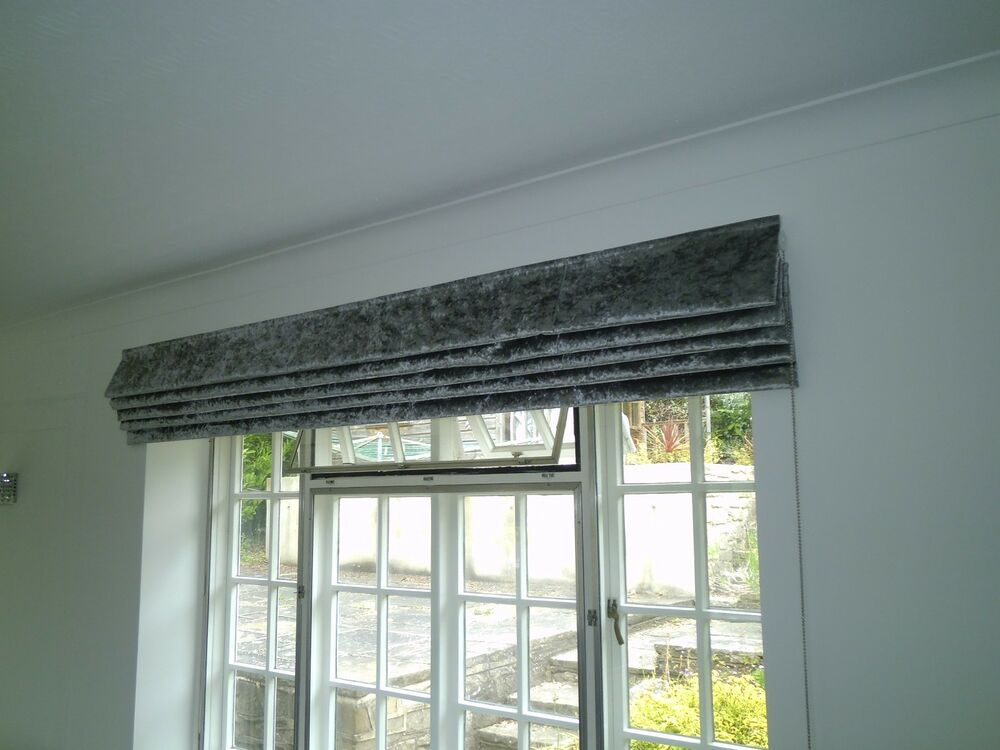 Harmony Extra Wide Roman Blinds Made To Measure Your