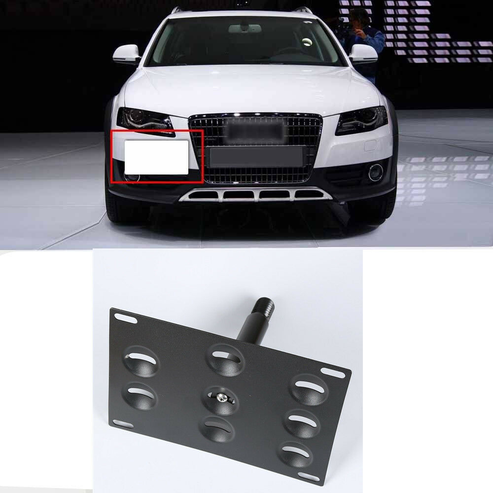 Audi A4 License Plate Frame: Bumper Tow Hook License Plate Mounting Bracket For Audi A4