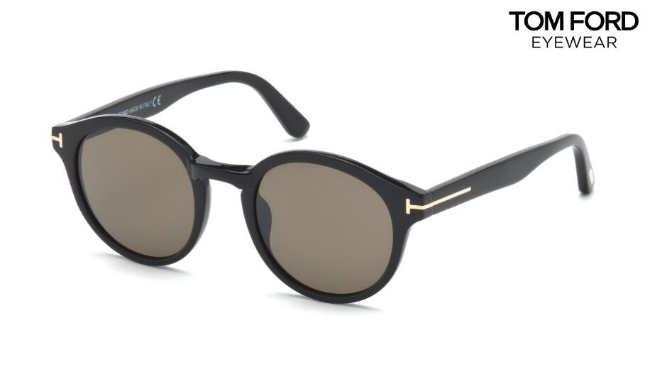 169212d4d1f TOM FORD Sunglasses TF400 LUCHO (01J) Black   Roviex RRP-£260 664689696345