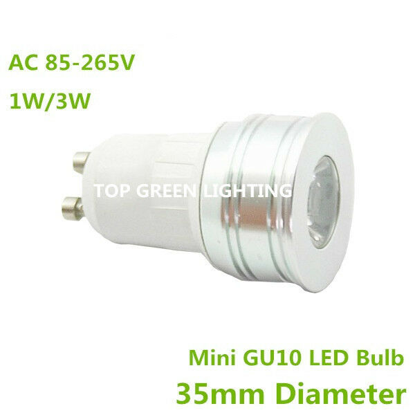 5 x gu10 35mm mini led light bulb mr11 gu10 small led 35mm 110v 220v 230v 240v ebay. Black Bedroom Furniture Sets. Home Design Ideas