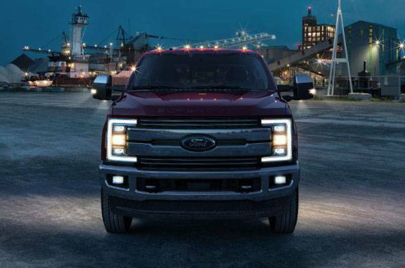 2017 2018 Ford F250 F350 Super Duty Cab Lights Clearance