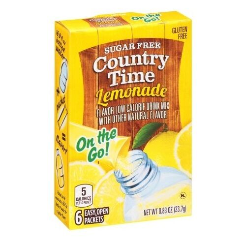 1 Country Time Lemonade On The Go Powder Water Drink Mix