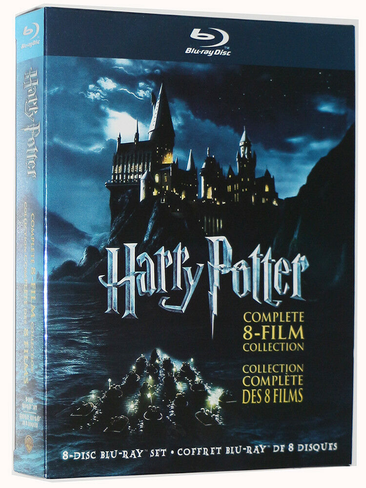 New blu ray harry potter complete 8 film collection 8 for Sejour complet harry potter