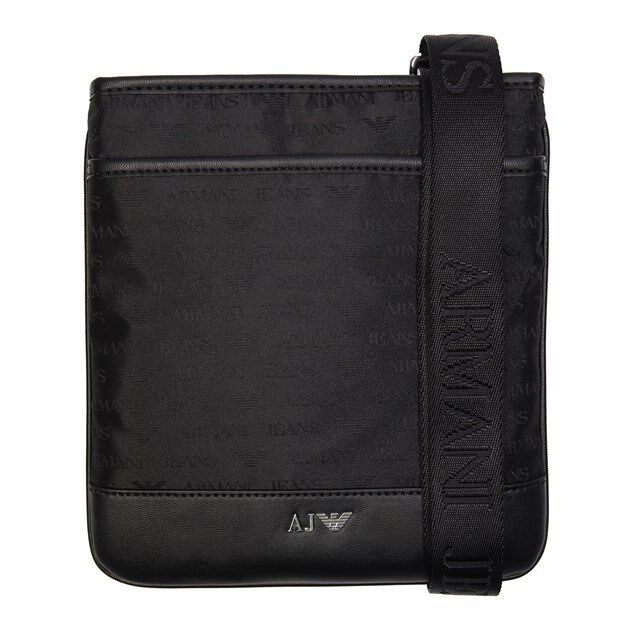 Details about New Mens Armani Jeans Black Logo Print Pouch Nylon Cross Body  Bag Bags 6a2f7d05c0
