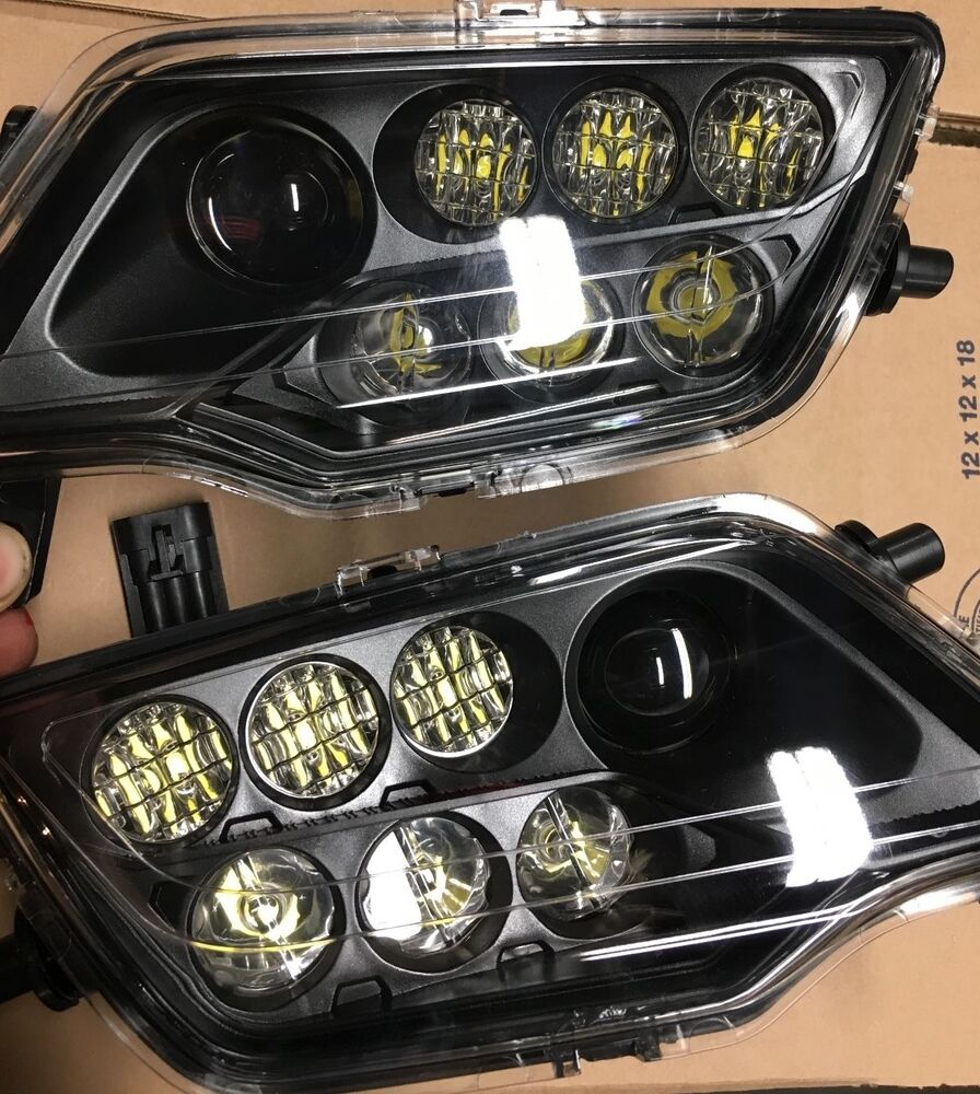 14-17 Honda Rancher 420 & Foreman 500 LED HEADLIGHTS CONVERSION- Rubicon | eBay