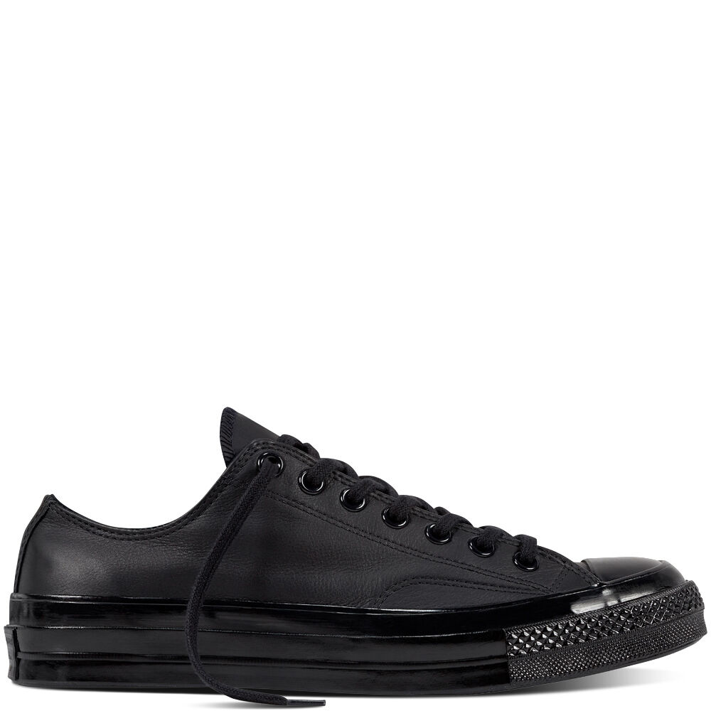 ad64ab05308418 Details about Converse 1970 s Chuck Taylor Mono Black Leather 155456C Ctas  Trainers 70