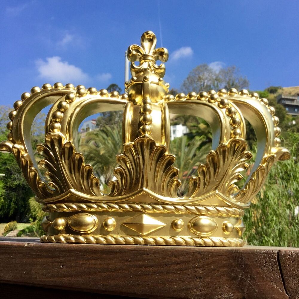 Crown Wall Decor Home Royal King Queen Princess Prince