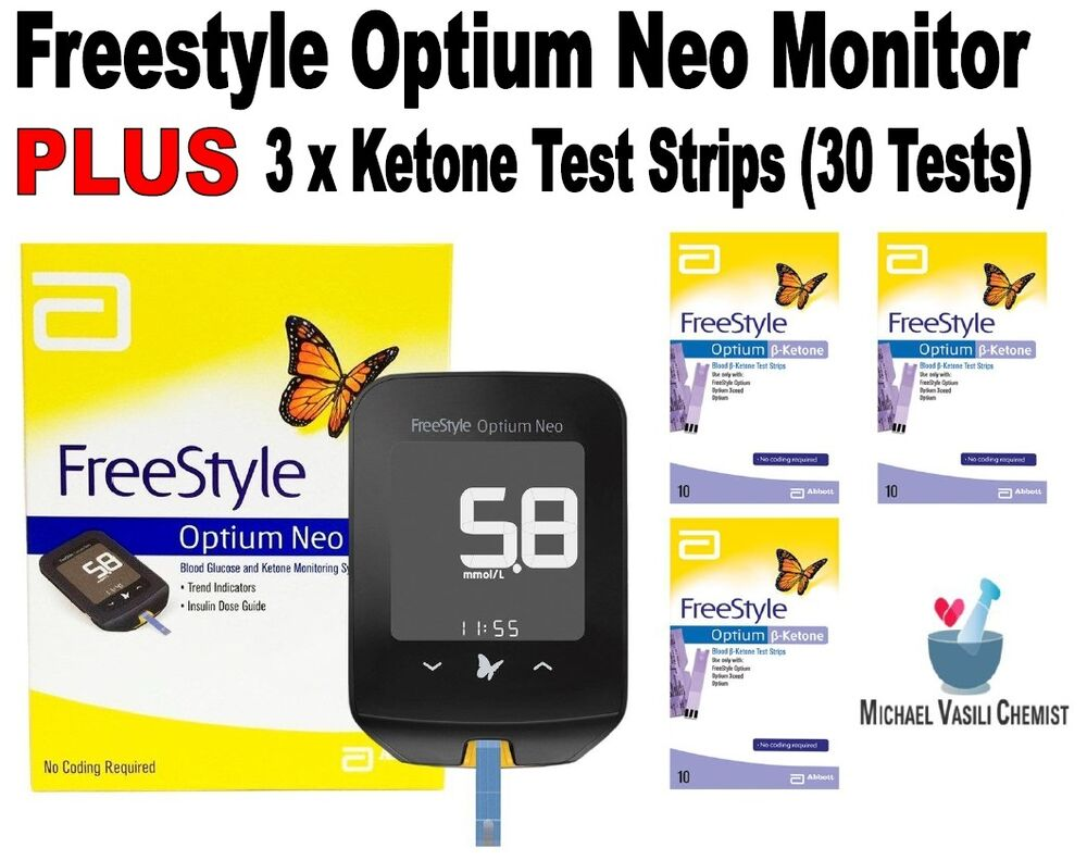 how to read ketone test strips