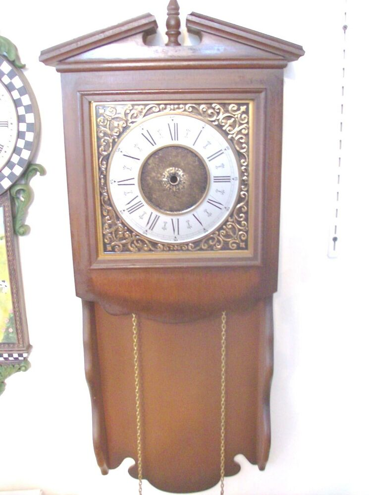 Large Wall Clock Case Parts Or Repair Case Only Ebay