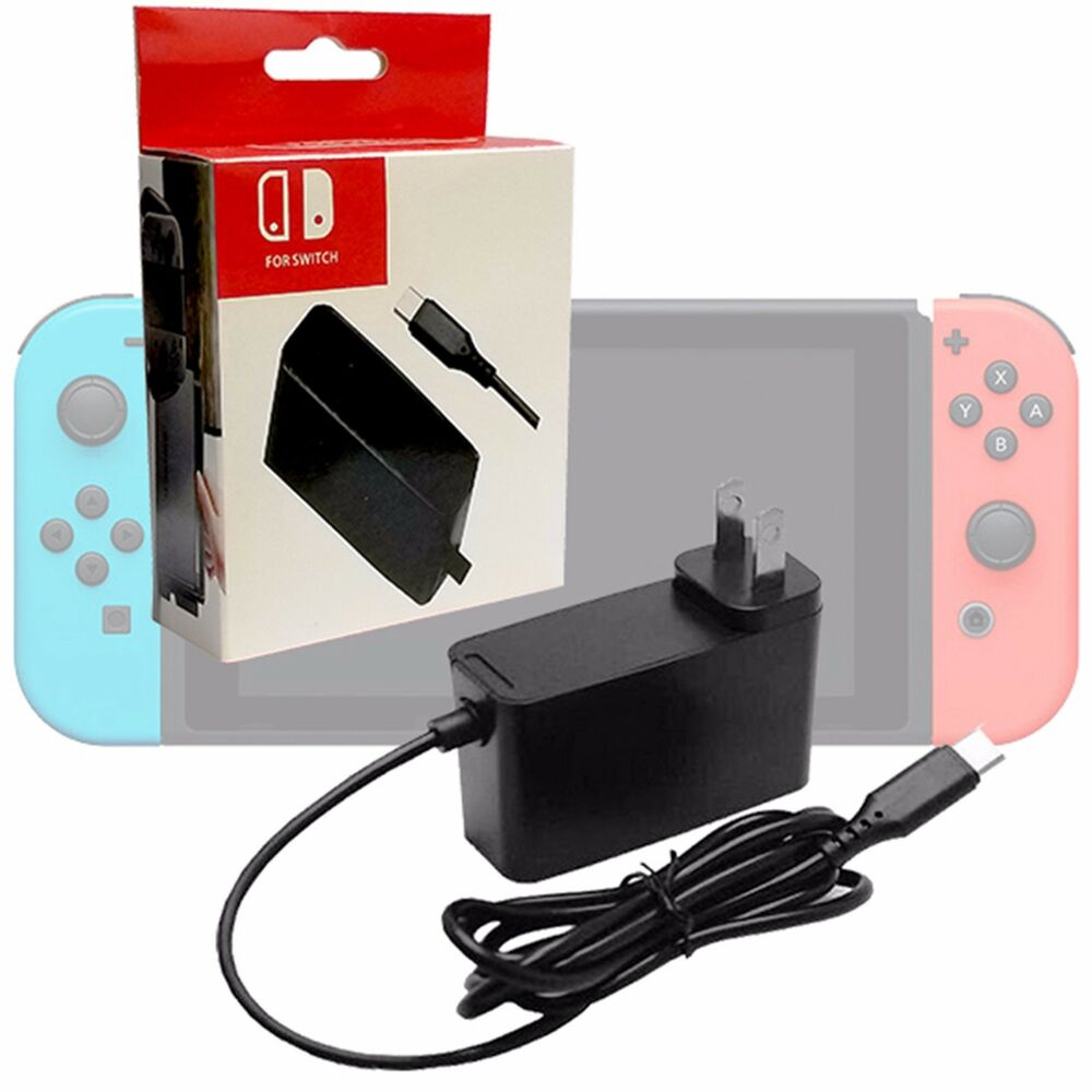 Generic AC Adapter Power Supply For Nintendo Switch Wall