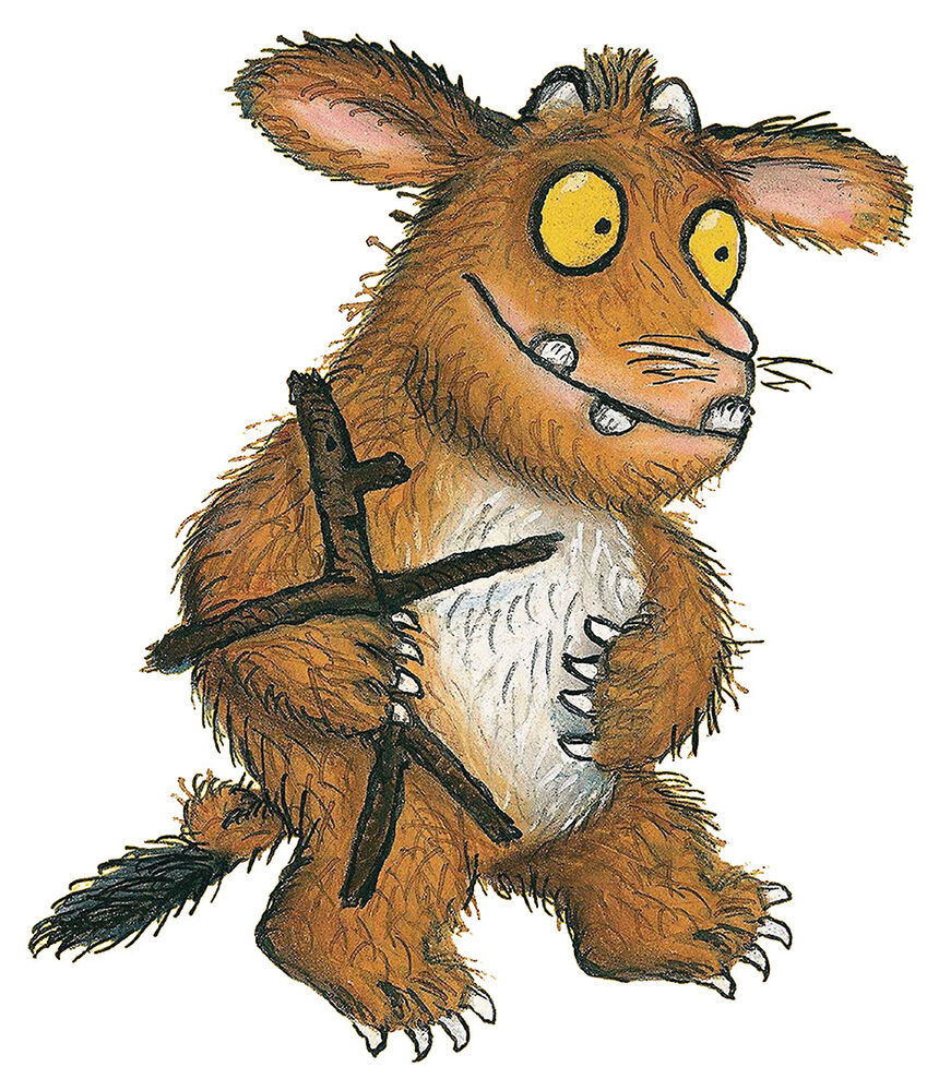 The gruffalo child self adhesive wall art sticker print mural the gruffalo child self adhesive wall art sticker print mural multi sizes new ebay amipublicfo Image collections