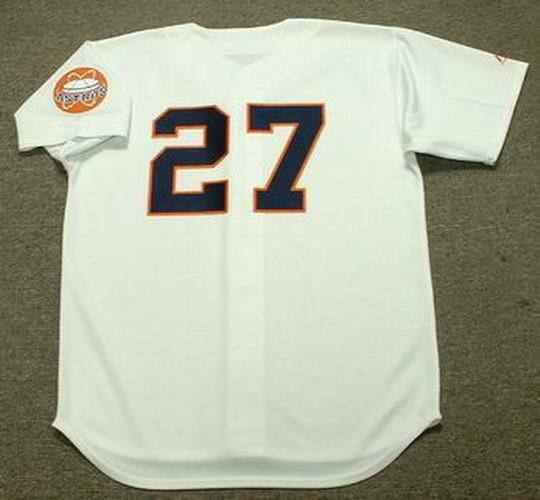 BOB WATSON Houston Astros 1960 s Majestic Cooperstown Home Baseball Jersey   ffbdeae44