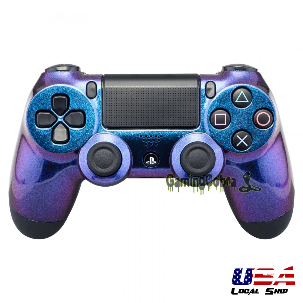 New Personalized Chameleon Replacement Parts Housing Shell For Ps4 Ds4 Dual Shock 4 Light Gold Model Dualshock Ebay