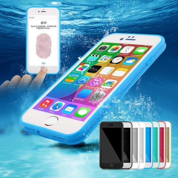 Etui Housse Coque Etanche Waterproof Antichocs Silicone Gel Case Cover iphone