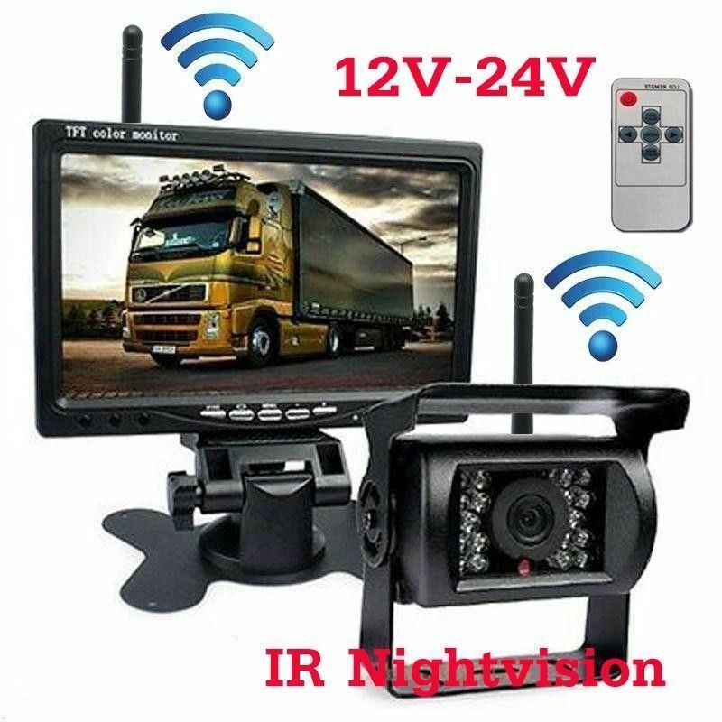 7 Quot Digital Back Up Rear View Reversing Camera System For