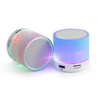 Wireless Mini LED Lights Bluetooth Speaker