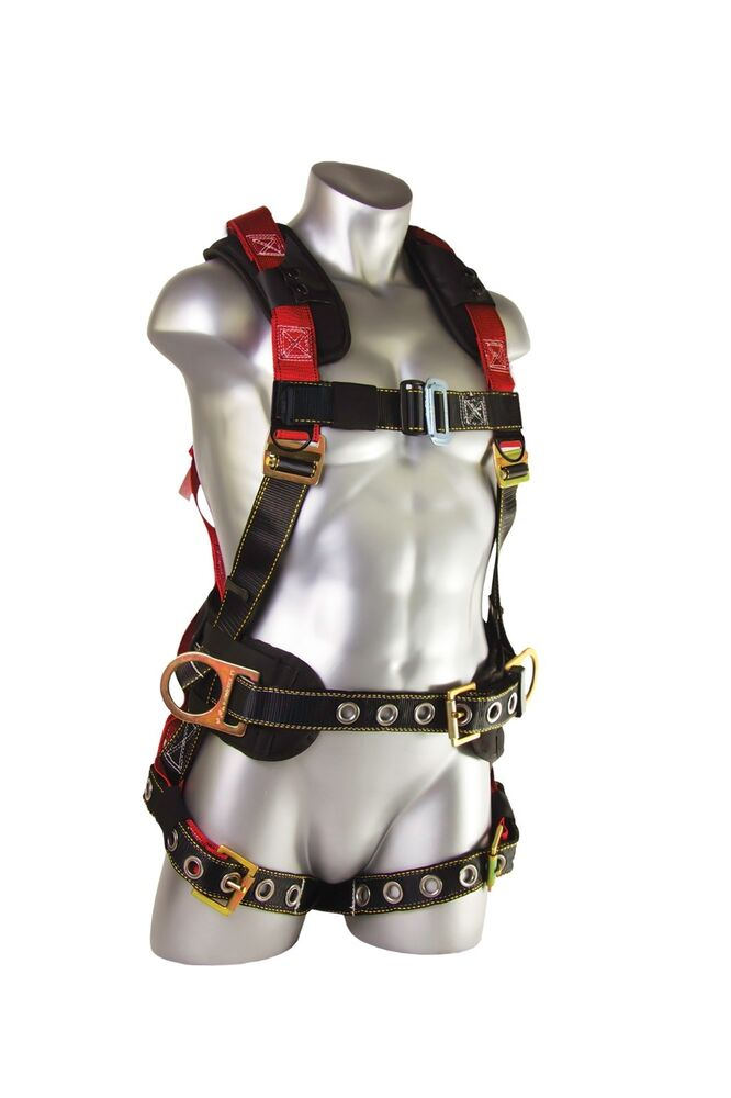 guardian fall protection seraph construction harness. Black Bedroom Furniture Sets. Home Design Ideas