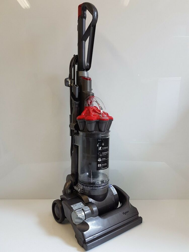 Dyson Dc33i Red Upright Hoover Vacuum Cleaner Serviced