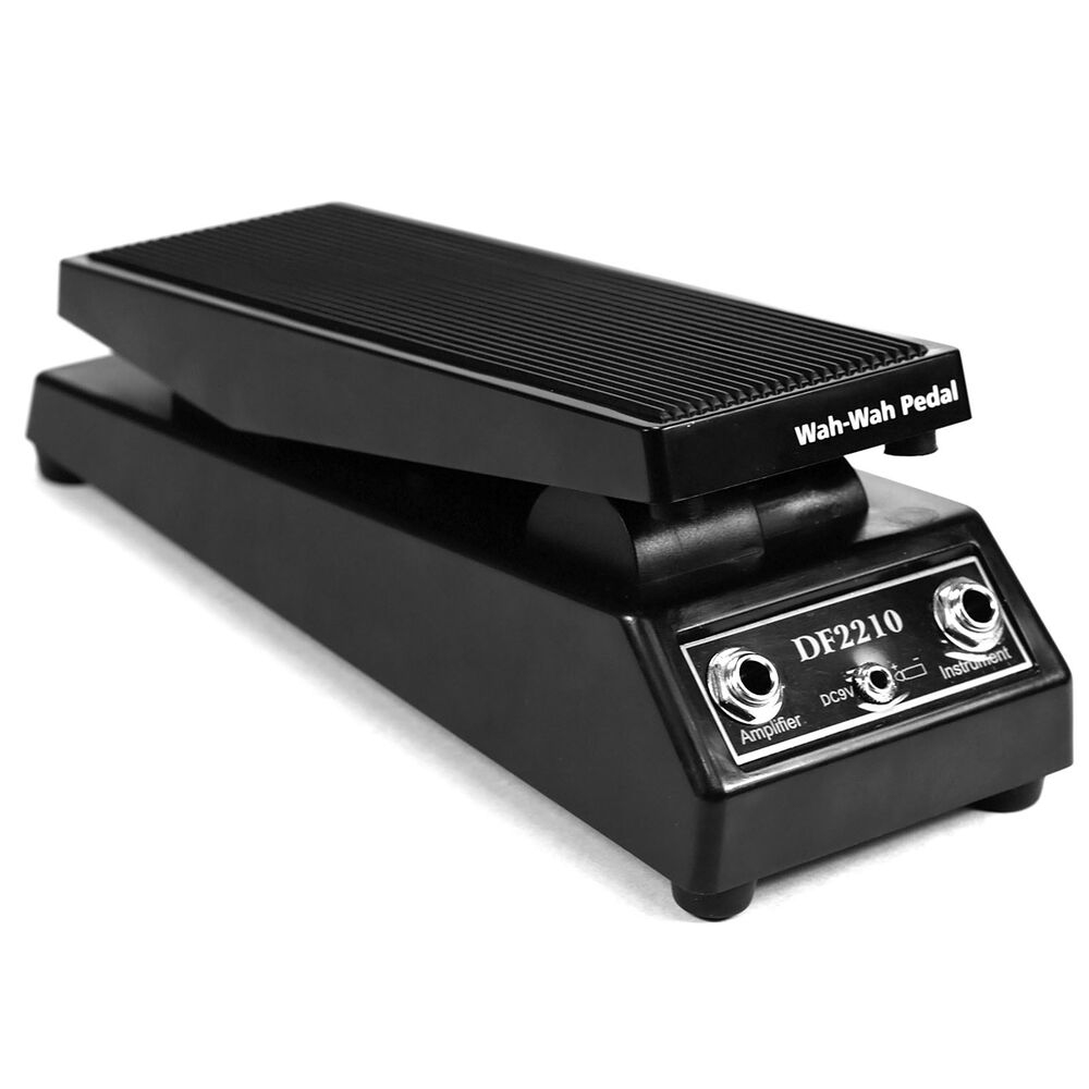 wah wah sound volume electric guitar fx effect pedal black heavy duty ebay. Black Bedroom Furniture Sets. Home Design Ideas