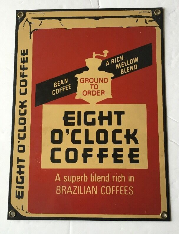 O Clock Vintage Coffee Ads Images
