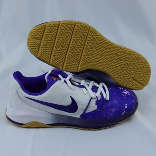 premium selection aa9b3 e8efd Details about Nike KD 8 QS 846229-100 White Purple Blue Baby Toddler TD  Shoes