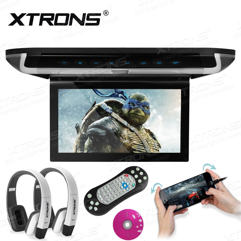 Hdmi 10 Quot Car Roof Mount Overhead Monitor Dvd Player Games