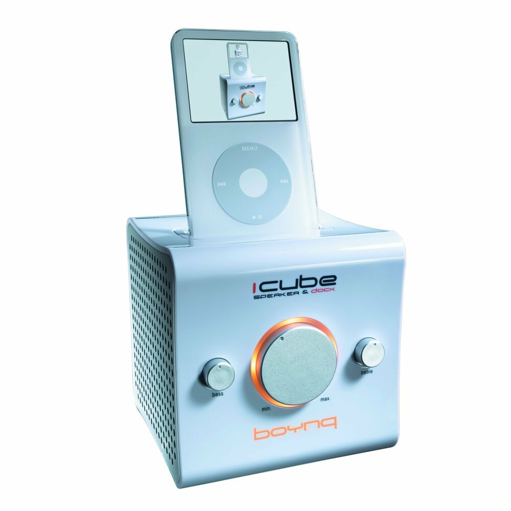 boynq docking station speaker dock ipod iphone 3 4 ipod 30 pin ebay. Black Bedroom Furniture Sets. Home Design Ideas