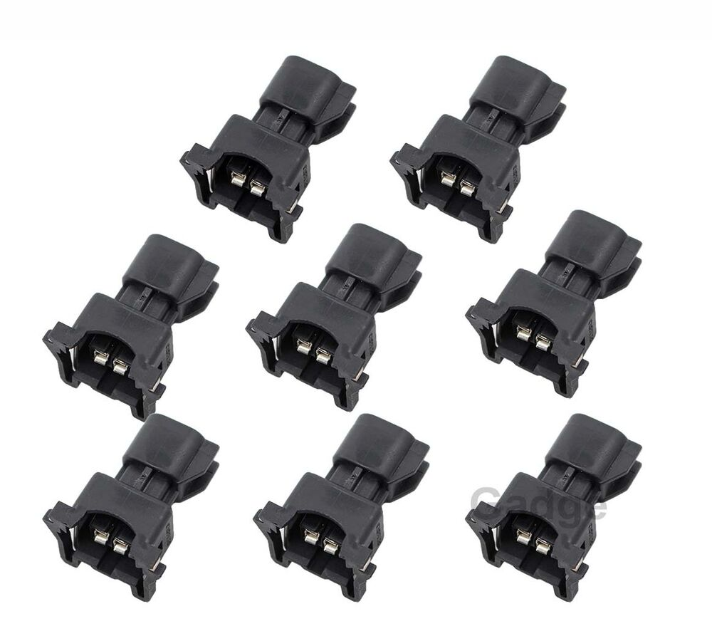 8pcs Fuel Injector Connector Adapter Ev6 To Ev1 Uscar Ls2