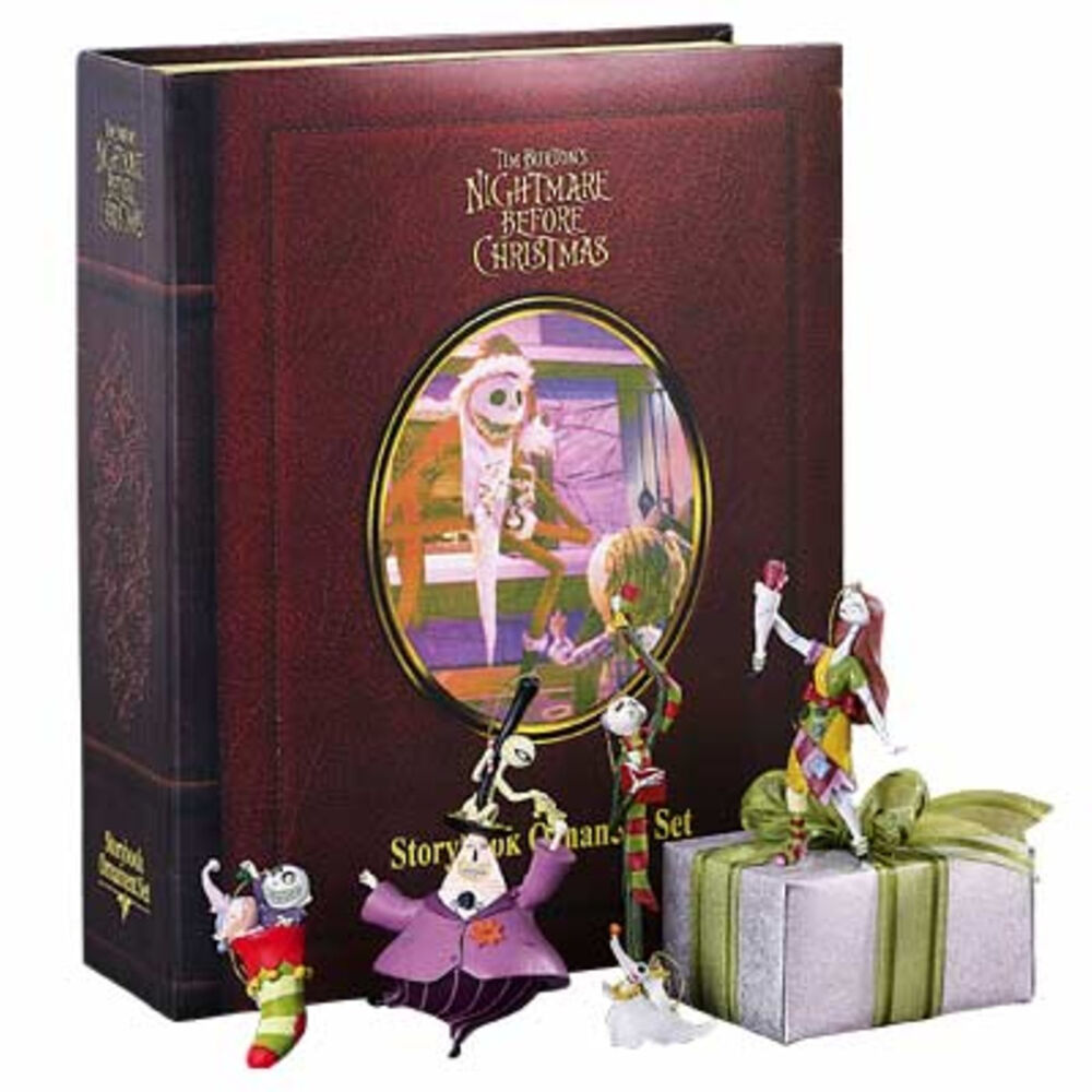 Free Comic Book Day Nightmare Before Christmas: NIGHTMARE BEFORE CHRISTMAS STORY BOOK ORNAMENT SET