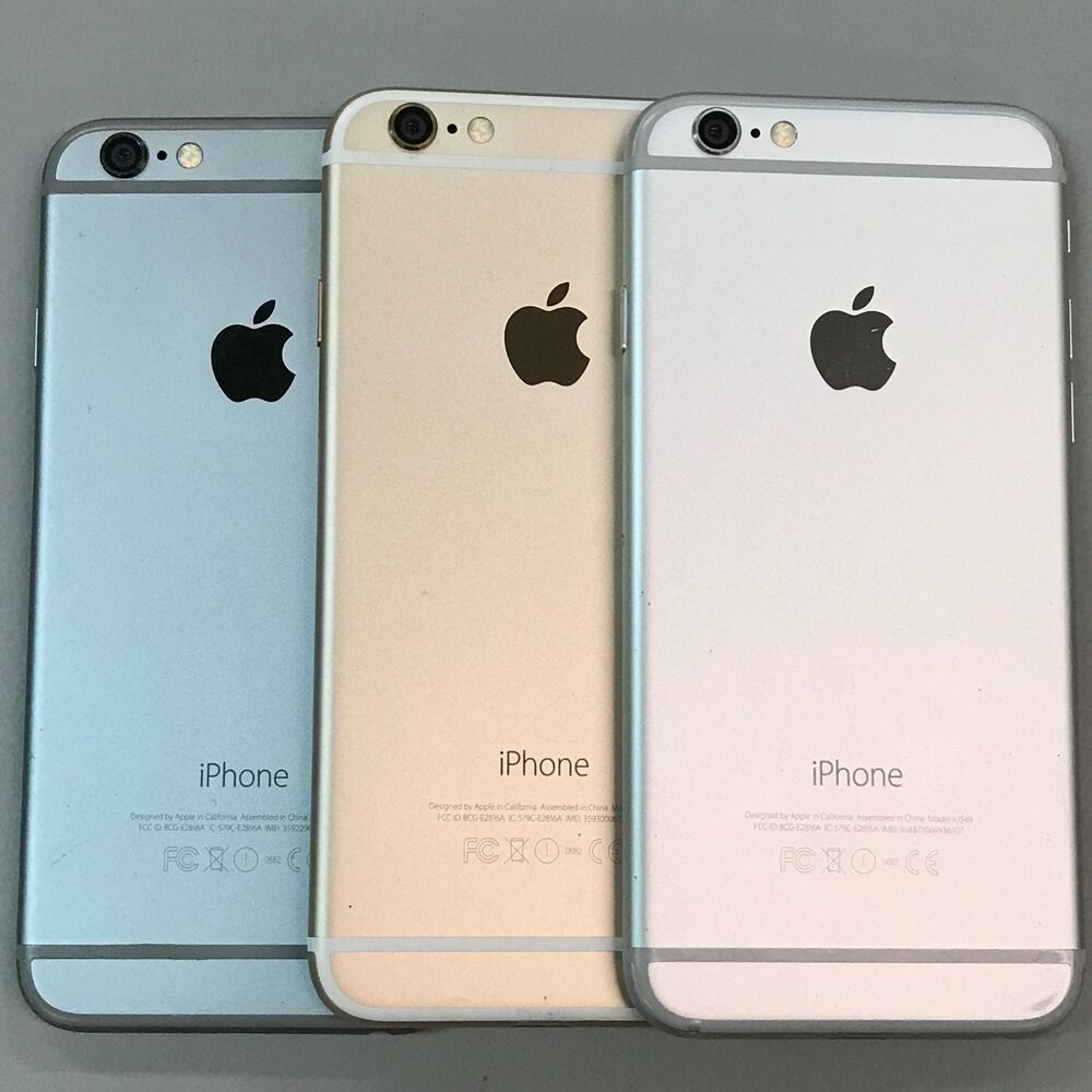 apple iphone 6 factory unlocked 16gb 64gb 128gb with. Black Bedroom Furniture Sets. Home Design Ideas