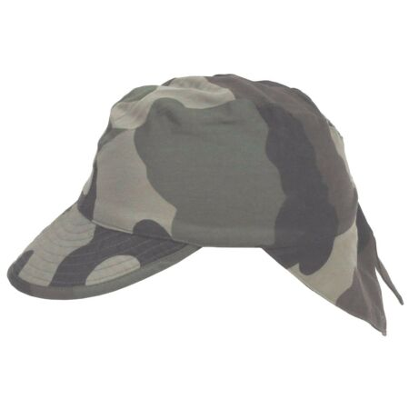 img-NEW FRENCH ARMY CCE CAMO SUN CAP HAT NECK PROTECTION FLAPS BB CAP MILITARY