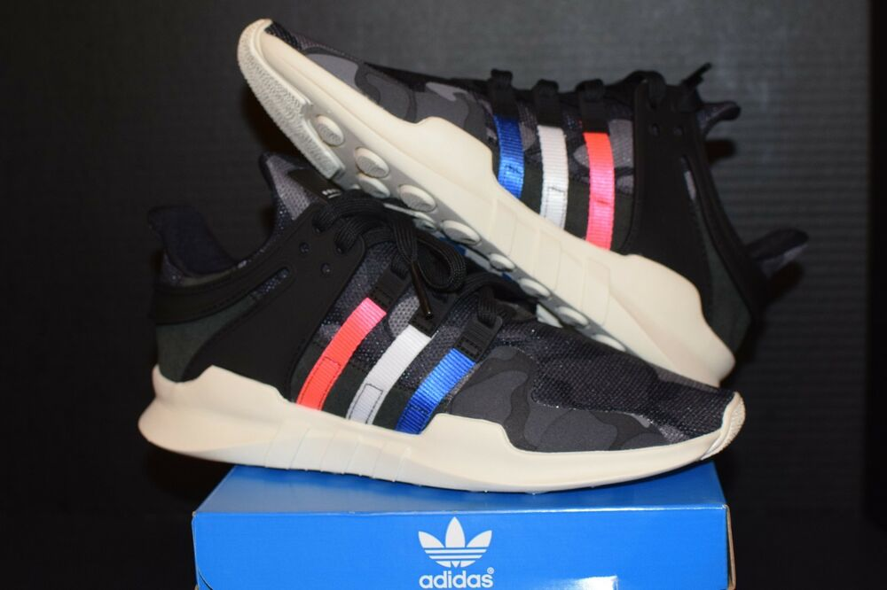 buy popular e3532 86677 Adidas Orignals EQT Support ADV Tricolor Duck Camo nmd olive green turbo  BB1309  eBay