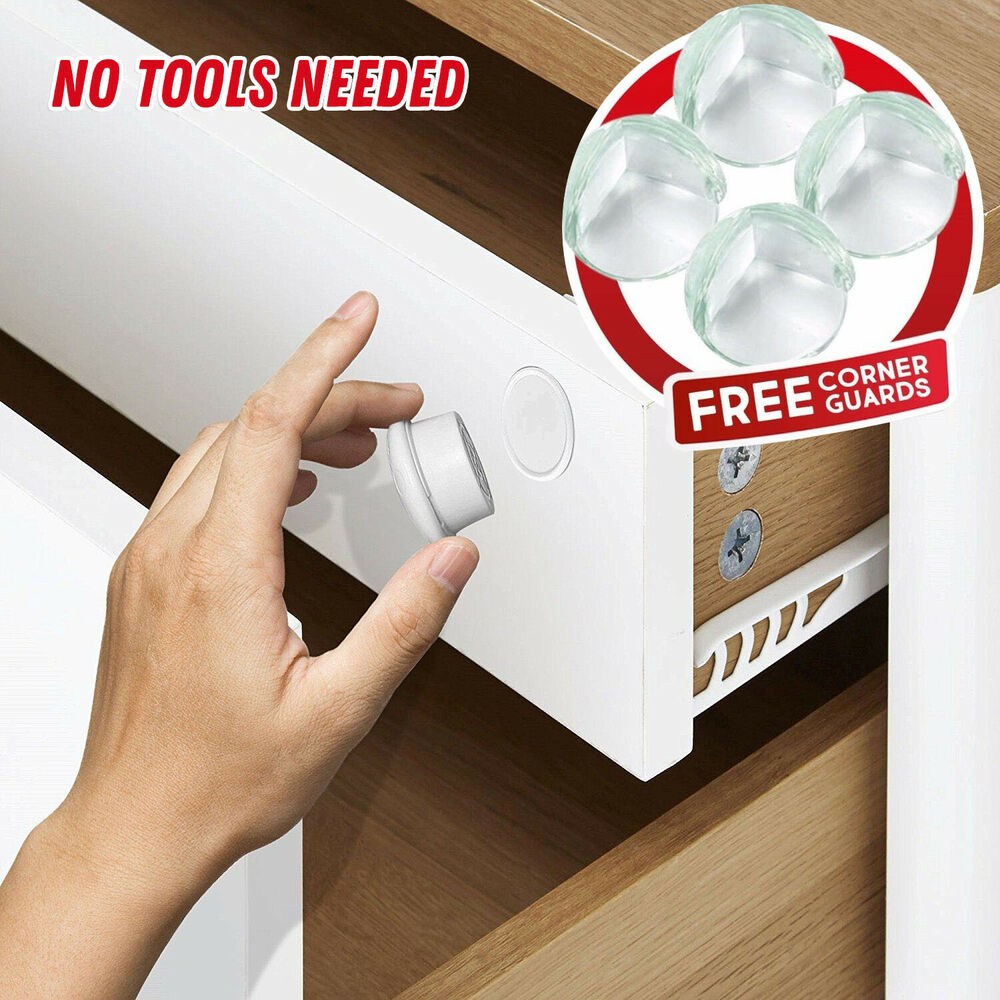 Invisible Safety Baby Magnetic Cupboard Drawers Locks Door