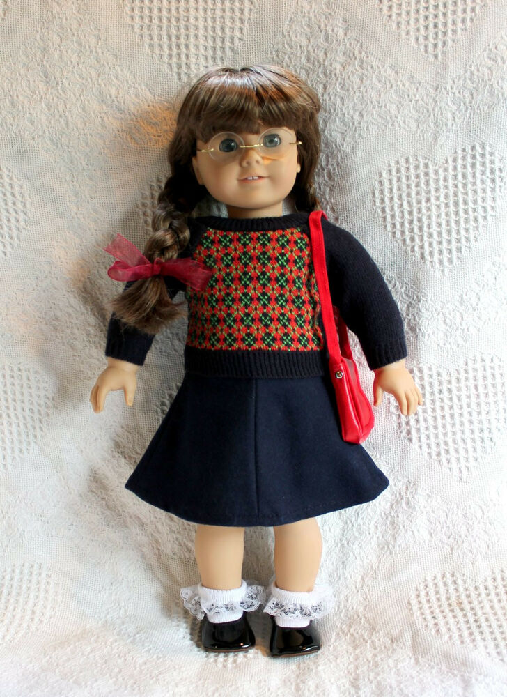 american girl doll pleasant company molly mint condition 18 pre mattel retired ebay. Black Bedroom Furniture Sets. Home Design Ideas