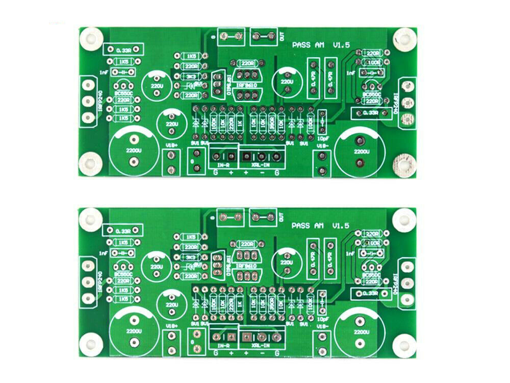 2 x class a 10w power amplifier pcb based on pass aleph mini 699948767092 ebay. Black Bedroom Furniture Sets. Home Design Ideas