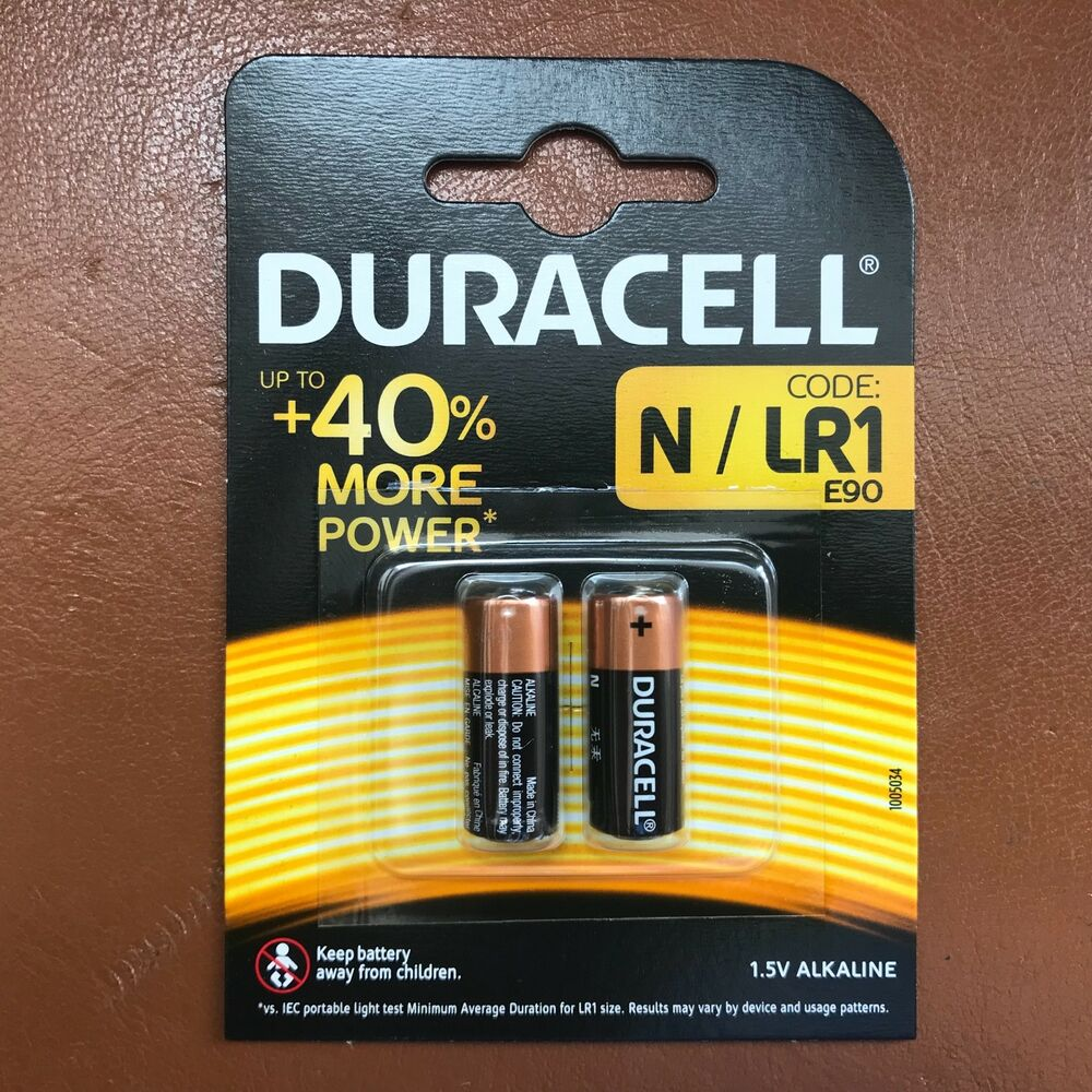 2 x duracell n mn9100 1 5v alkaline batteries lr1 e90 am5 kn longest expiry ebay. Black Bedroom Furniture Sets. Home Design Ideas