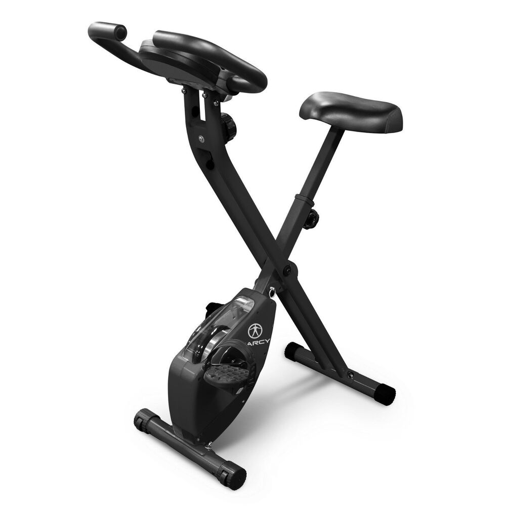 Marcy Recumbent Exercise Bike Ns 716r: Marcy Foldable Upright Exercise Bike
