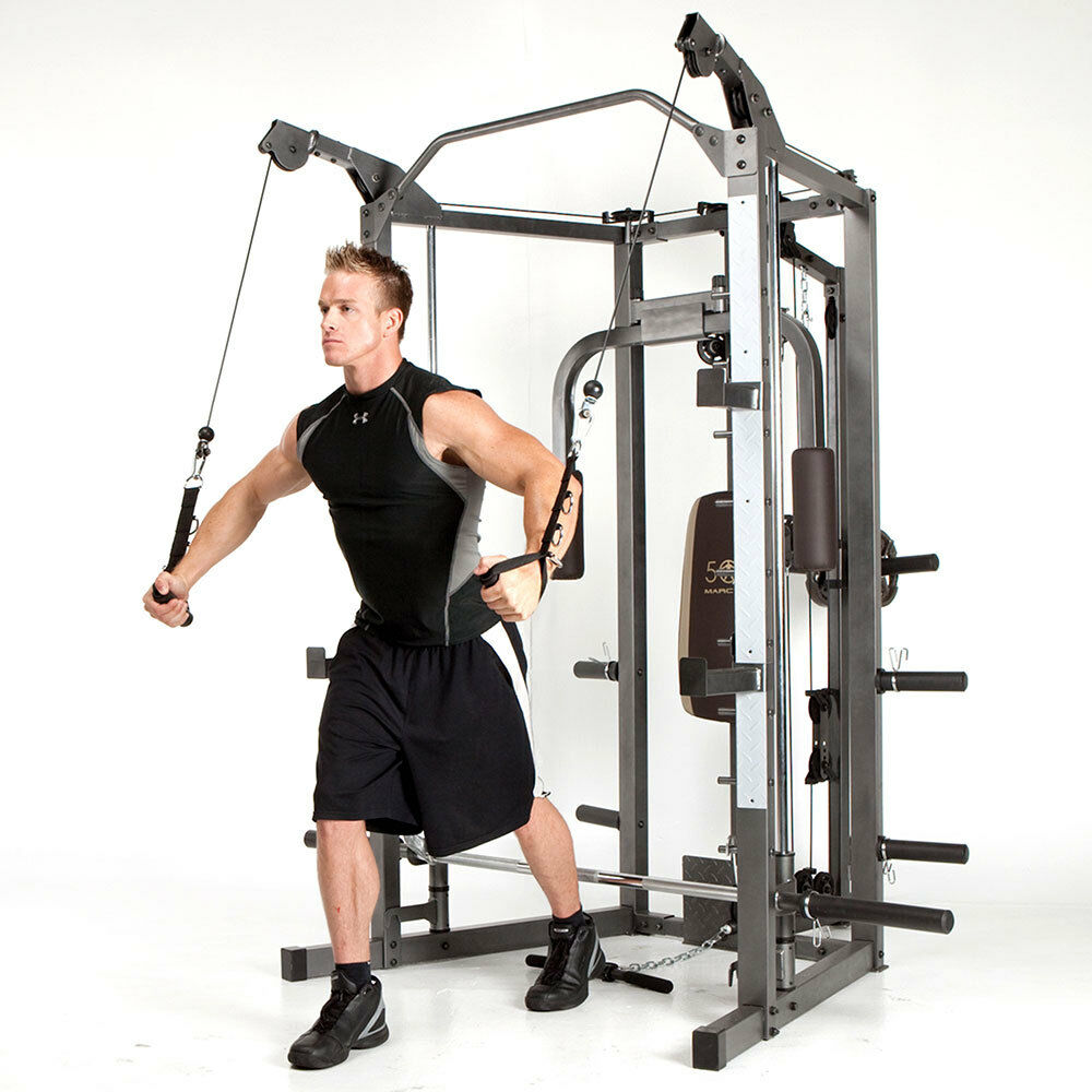 Marcy Smith Machine Sm 4008 Weight Training Circuit Cage