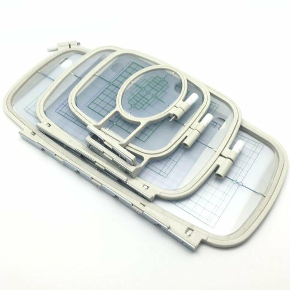 4 Pcs Embroidery Machine Hoop Set For Brother PE-700 PE-700II PE770 Machine | EBay