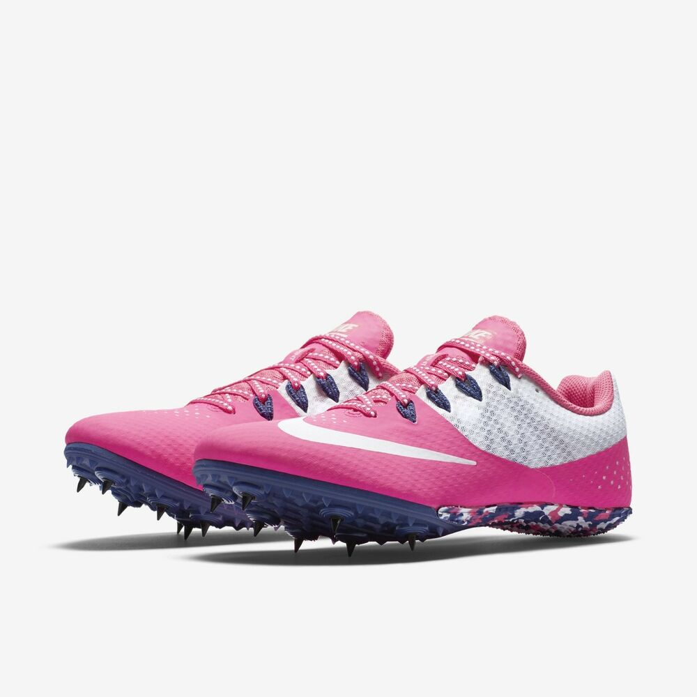 low priced 36dee 74c4f Details about NIKE ZOOM RIVAL S 8 WOMEN S TRACK SHOE Style 806558-615 MSRP   65