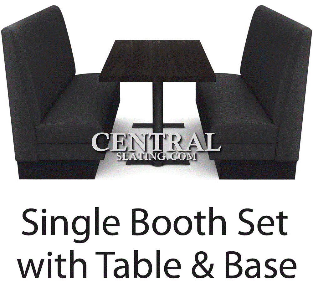 Diner Tables For Sale: Restaurant Booths Seating And Table For Sale Set W 2