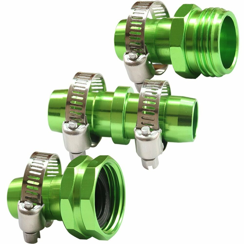 Garden hose connect repair kit quot fittings male