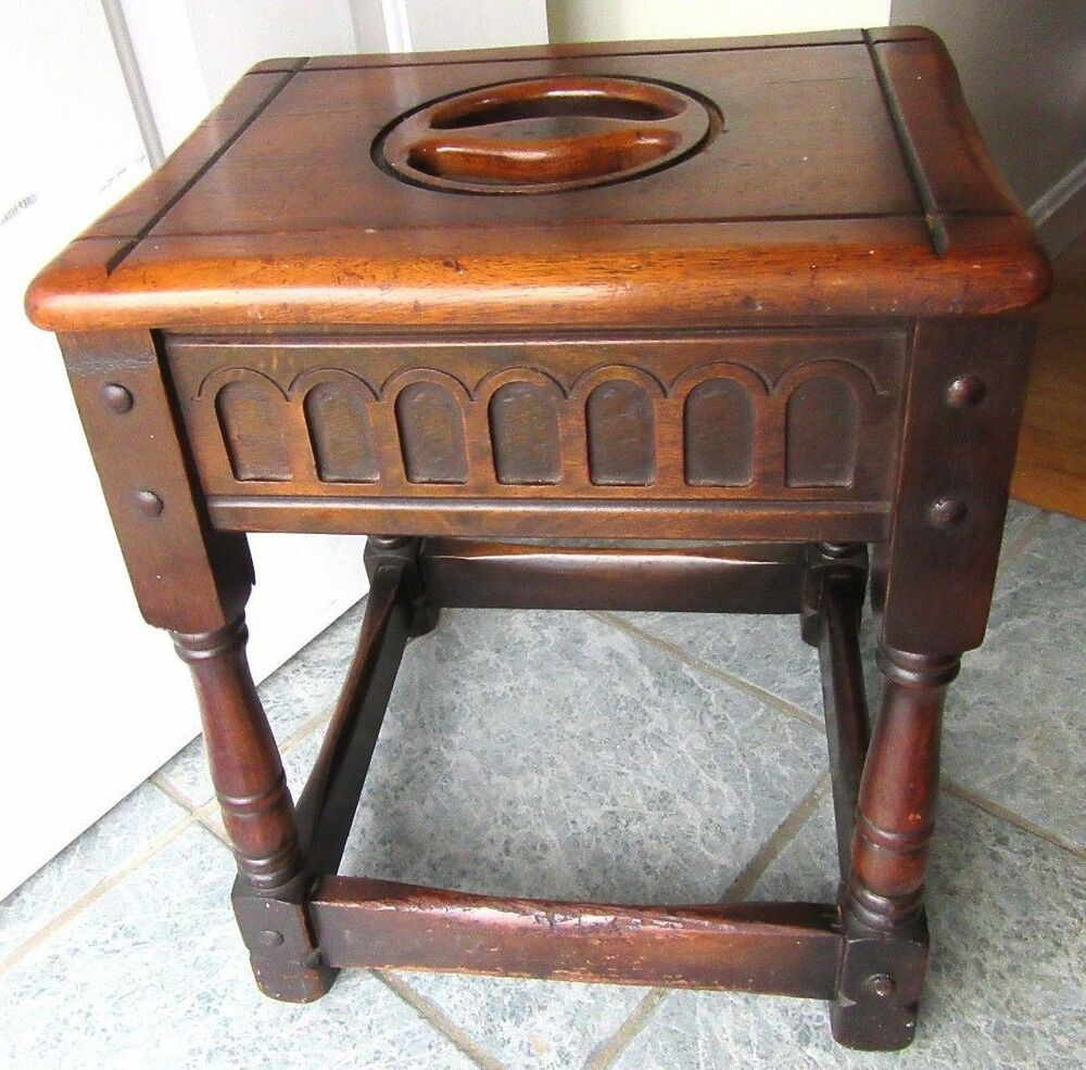vintage wood tables antique oak joint stool table carved jacobean wood 1910 3269