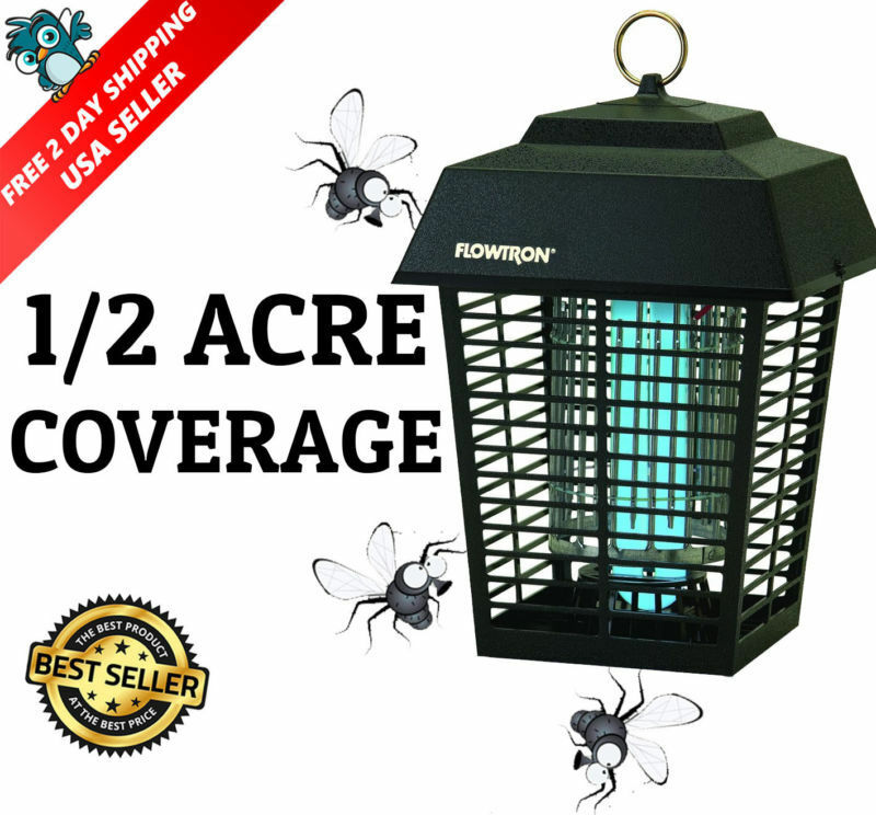 Electronic Bug Zapper Killer Insect Fly Mosquito Electric