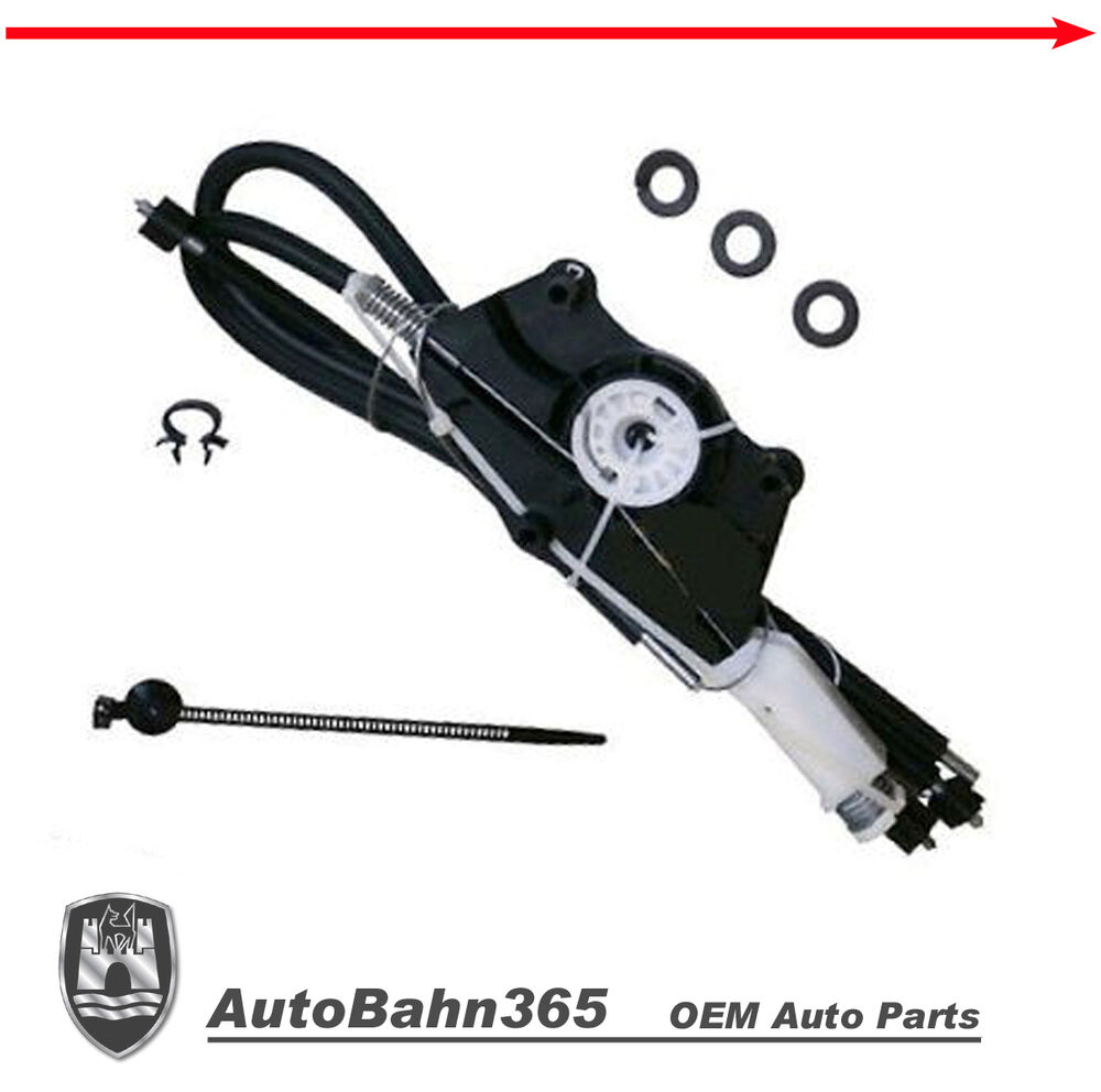 Convertible Replacement Parts : New genuine oem vw right window repair kit beetle