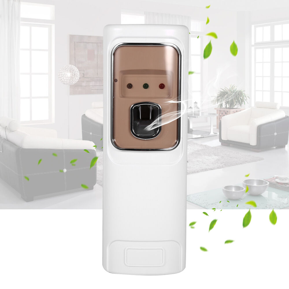 Air Freshener Automatic Led Perfume Aerosol Dispenser Wall