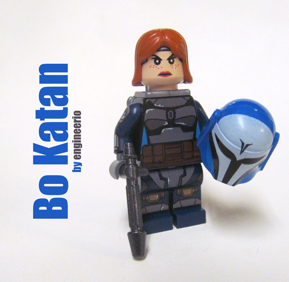 lego custom bo katan star wars clone mandalorian. Black Bedroom Furniture Sets. Home Design Ideas
